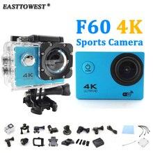 Действий Камеры 4 К/24fps F60 Камера Wi-Fi 2.0 «170D водонепроницаемый Шлем Камеры go pro Стиль Подводного Спорта камера