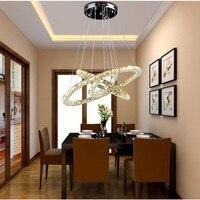 HGHomeart Modern Chandelier Light LED Contemporary Gold Crystal Chandeliers Lustre Nursery Suspension For Living Dining Room