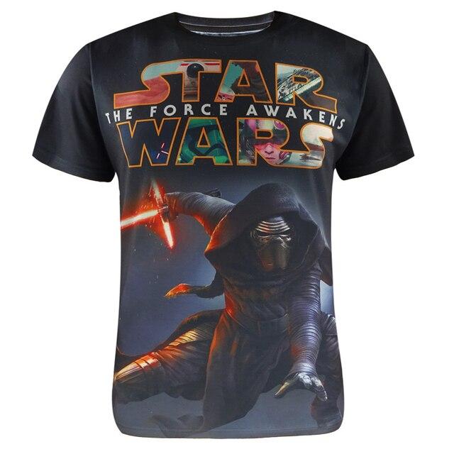 Hombres 3D T Shirt Darth Vader de Star Wars T-shirt Top