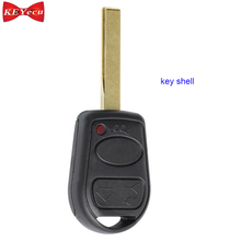 KEYECU 3 Button Remote Car Key Case Shell Fob for LAND ROVER Range Rover L322 HSE Vogue 2002-2006