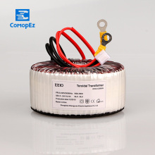 цены 220V Input Toroidal Transformer 300W Pure Copper Toroidal Power Transformer For Power Supply Ring Transformer