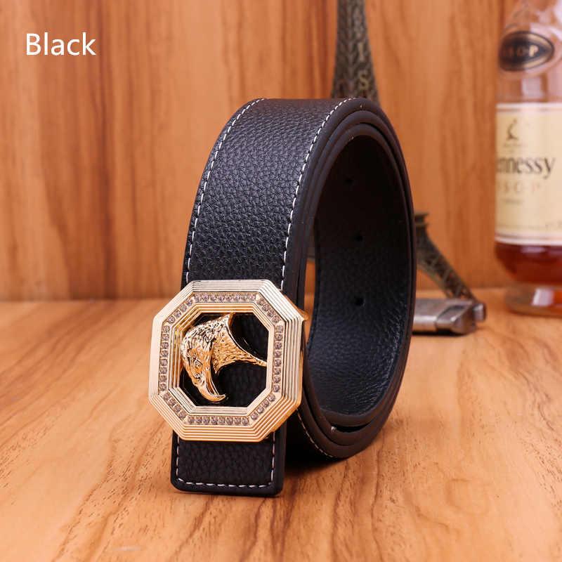 7fc3010d7bc ... JXQBSYDK Luxury Brand Belts for Men Eagle Head Buckle Designer Men  Fashion High Quality Male Leather ...