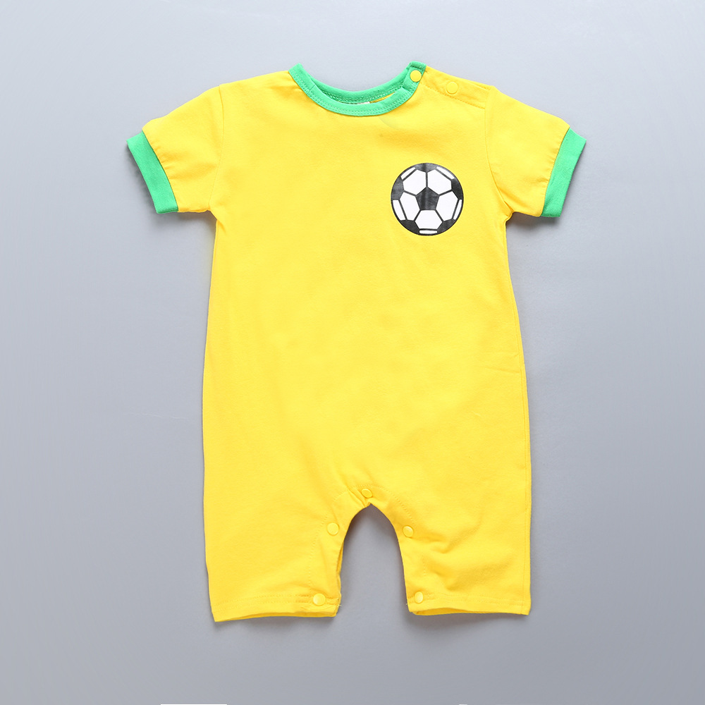 00f325f19f48 Detail Feedback Questions about 2018 New Baby Football Rompers Messi ...