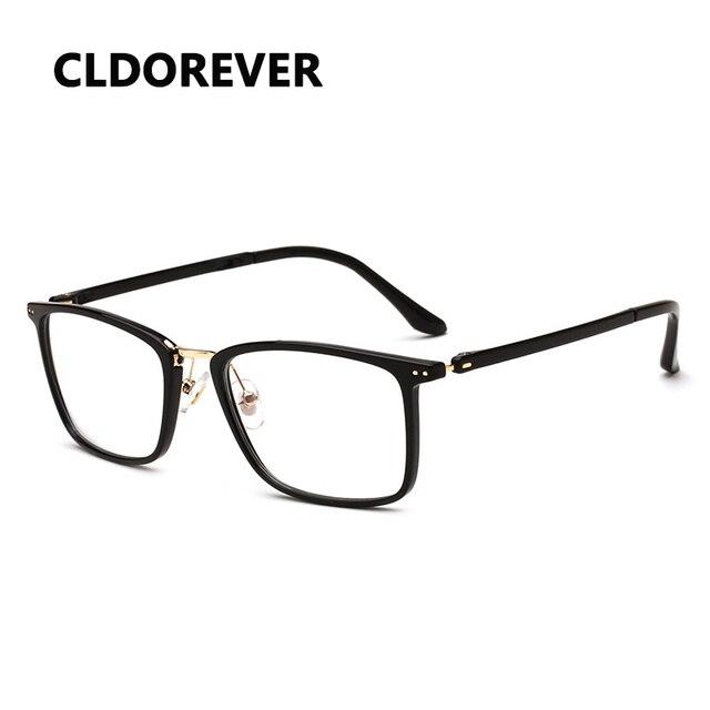 92c5a67f42e TR90 Ultralight Optical Glasses Frame Fashion Vintage Eye Glasses Frames  For Women Men Clear Spectacles Eyeglasses Frames