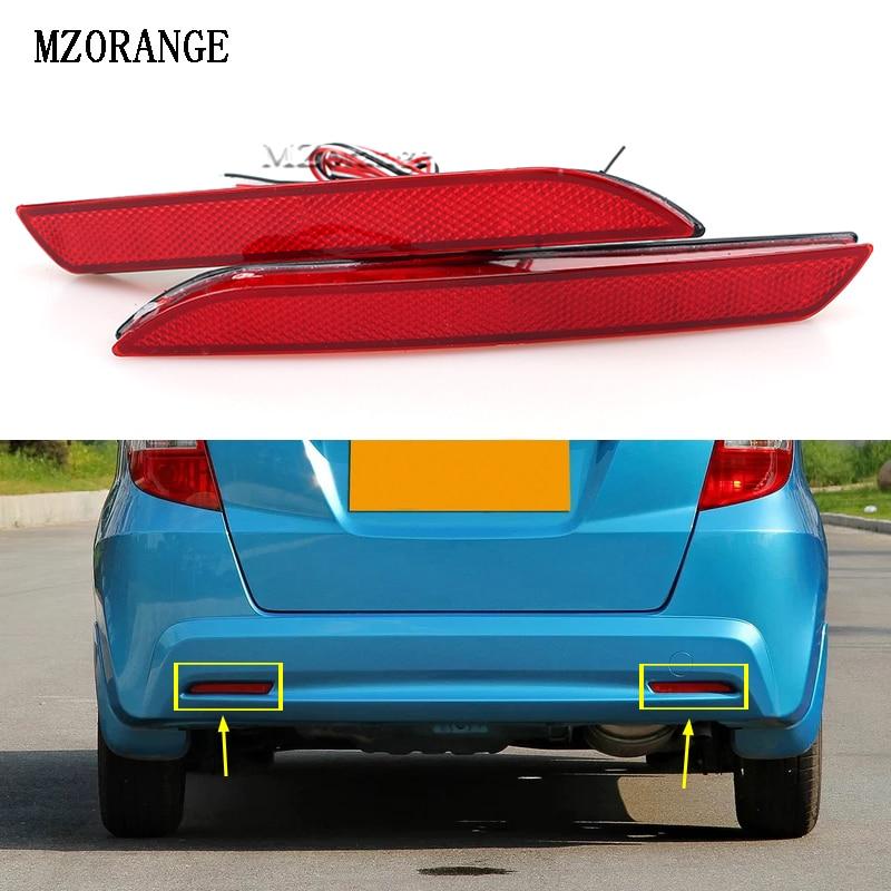 MZORANGE LED Tail Red Rear Bumper Reflector Light Lamp