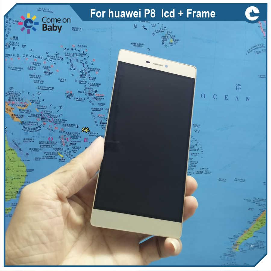 """5.2 """"écran complet de remplacement pour Huawei P8 écran LCD + numériseur tactile + cadre assemblée GRA-UL00/-UL10 GRA-L09 GRA-CL10/CL00"""