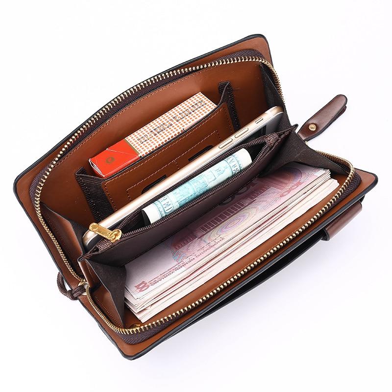 da embreagem bolsas bolsa de Men Purse : Monedero Hombre Portafogli