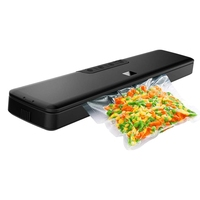 Vacuum Sealer Machine, Vacuum Sealer With Starter Kit, Automatic Sealing System With 20 Vacuum Sealer Bags, Multi Use Vacuum Pac