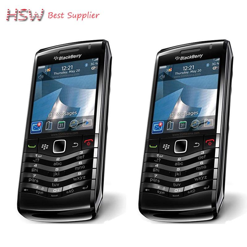 100% Original BlackBerry Pearl 9105 Mobile Phone 3G GSM WiFi Smartphone Quadband Unlocked refurbished