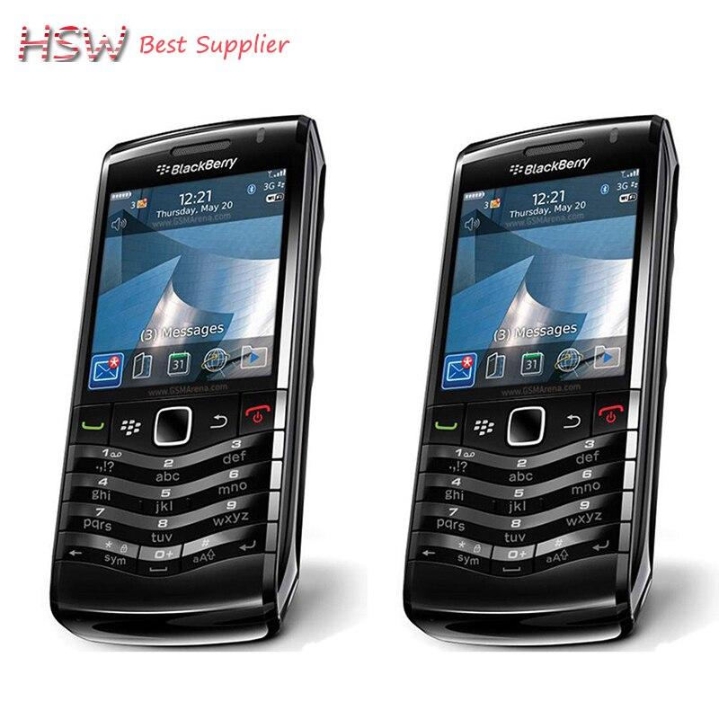 100% original blackberry pearl 9105 teléfono móvil 3g gsm wifi smartphone cuatri