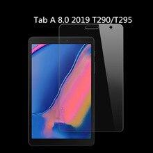 Высокий прозрачный глянцевый протектор экрана пленка для samsung Galaxy Tab A 8,0 T290 T295 T297 SM-T290+ инструменты для очистки экрана