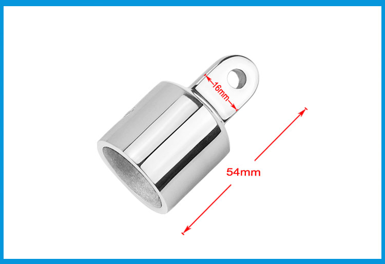 Automobiles & Motorcycles 316 Stainless Steel 1 Inch Awning Accessories External Eye End Canopy Tube End Sailboat Yacht Boat Top Pipe Eye End Cap Hardware