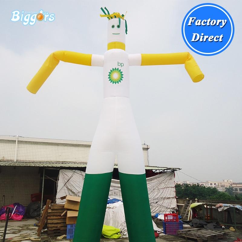 Promotion sky dancer gonflable tube gonflable homme skydancer gonflable agitant danseur à air pour la publicité