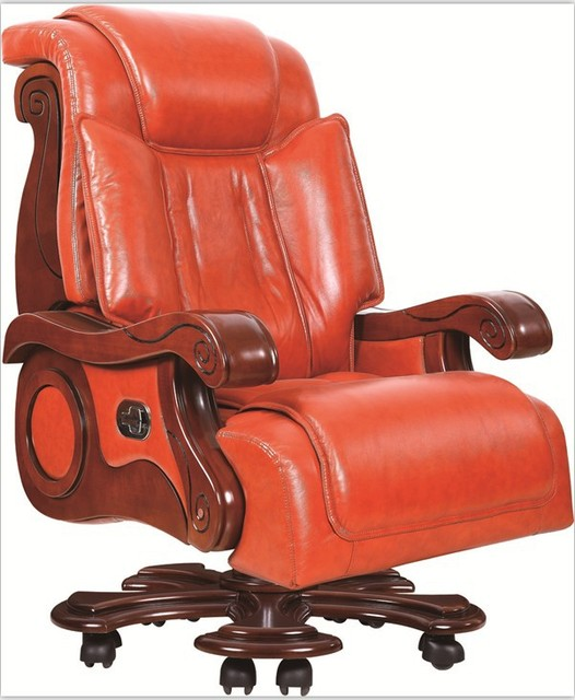 The Plush Leather Chairs Chair Office Chair Computer Chair High Grade Leather  Chair, President