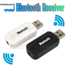 Hot USB Bluetooth Music Audio Receiver Adapter 3.5mm Stereo Audio to Speaker Sound Box for Apple iPhone 4/5/6 Plus