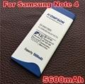 5600mAh EB-BN910BBK For Samsung Galaxy Note 4 battery note4 N910H N910A N910C N910U N910F N910FQ SCL24 SC-01G N910X N910W N910V