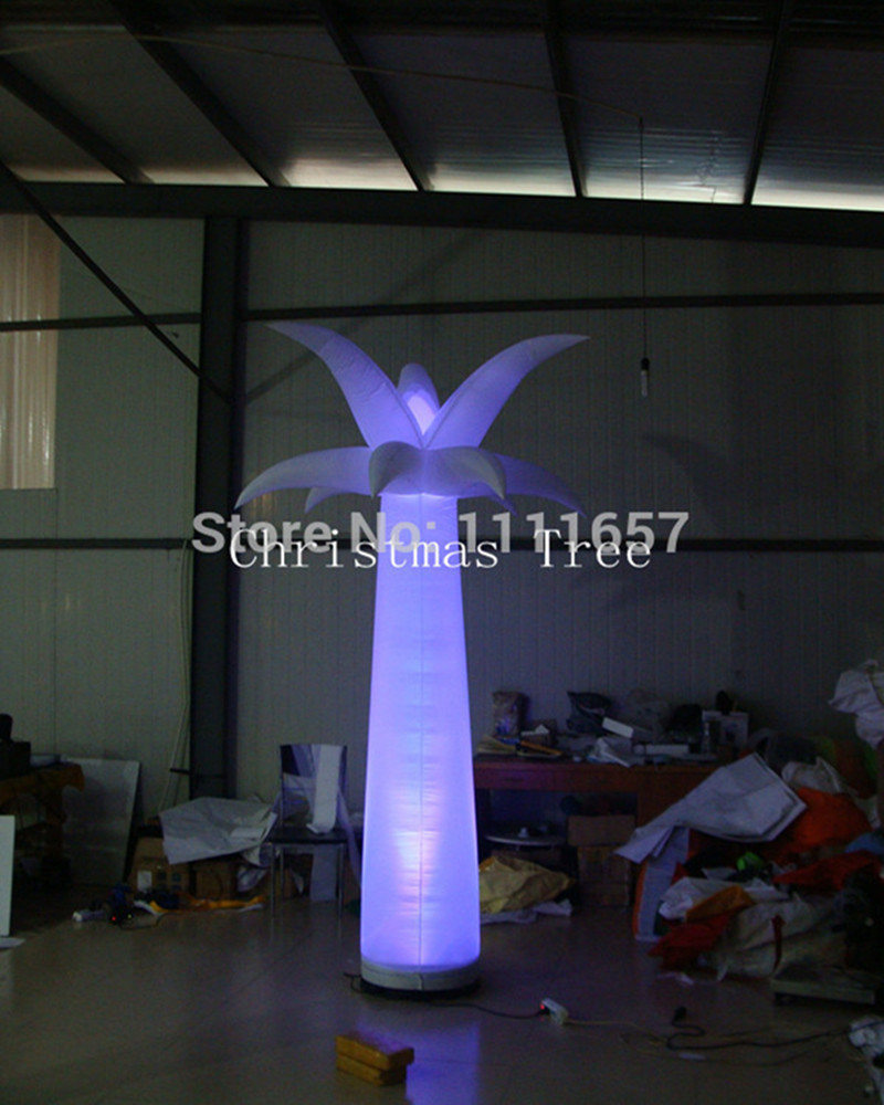 Led Inflatable Pillar Star Party
