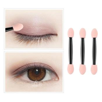 10/50/100pcs/set Soft Latex Sponge Eyeshadow Stick Double-side Disposable Eye Shadow Brushes Eye Manicure Makeup Tools