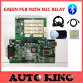 2015.1 version free active  tcs cdp pro plus with green board and NEC Japan relay new vci WITH BLUETOOTH