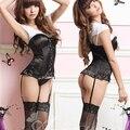 Mulheres sexy paixão tentação tipo colete combinação sexy sleepwear salão de uma peça