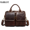 MARRANT Genuine leather men bag leather handbags shoulder crossbody bags casual men's briefcase men messenger bags laptop Bag