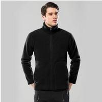 2019 New Winter Men's Fleece Warm Long Sleeve Warm Jackets Coats Fashion Windproof High Quality Mens Coats S XXXL