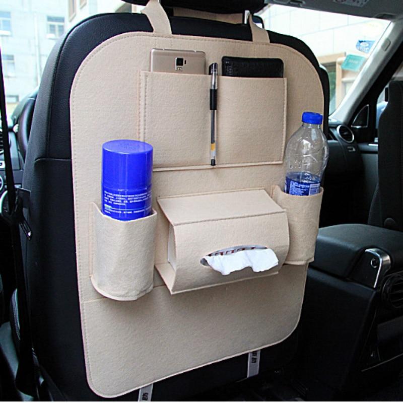 Para Lada Vesta Granta priora Niva 4x4 Kalina largus rayos X 2114 2107 2110 asiento trasero organizador almacenamiento bolsa accesorios car styling