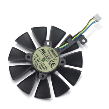 87MM T129215SU 0 50A Cooler Fan For ASUS GTX1060 1070 Ti RX 470