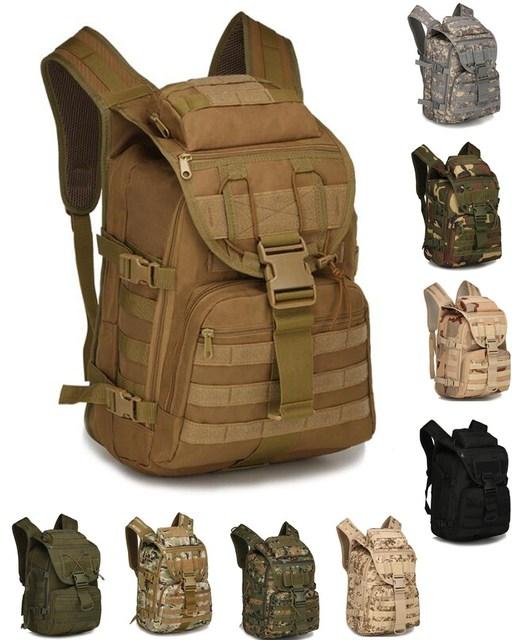 3cdaf660245c Good Molle Camouflage Military Backpack Waterproof Tactical Training Back  Pack Hiking Travel Shoulder Bag nylon Padding mochila