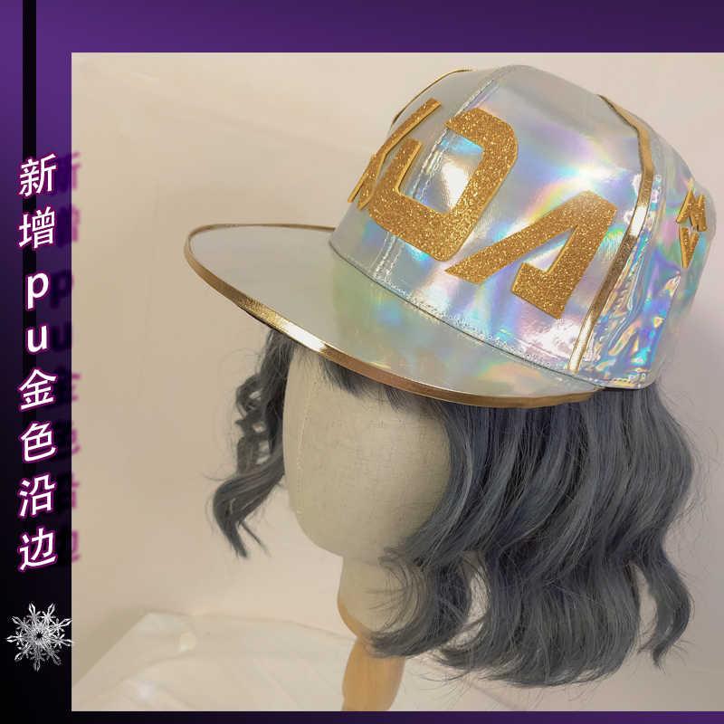 Горячая LOL KDA Косплей Акали девочка мальчик шапка-маска K/DA группа косплей реквизит аксессуары рождественские украшения для костюма