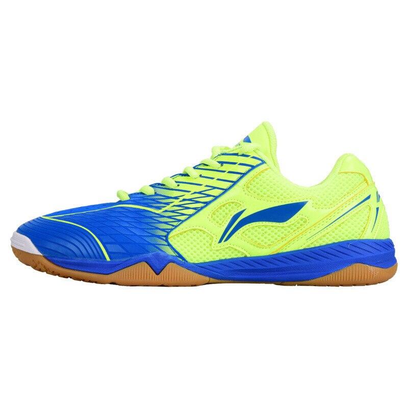 Новое поступление Li ning Мужская национальная команда обувь для настольного тенниса противоскользящие эластичные брендовые профессиональные кроссовки|Обувь для настольного тенниса|   | АлиЭкспресс