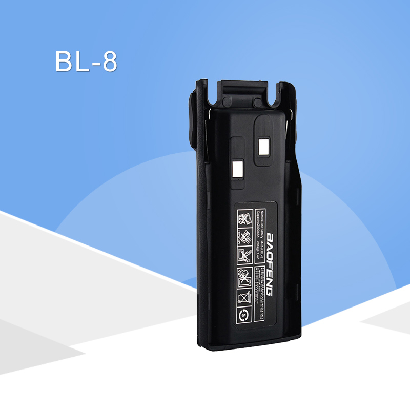 Original Baofeng BL-8 2800mAh 7.4V Li-ion Battery For UV-82 UV-8D UV-89 UV-8 Two Way Radio Transceiver Battery High Capacity