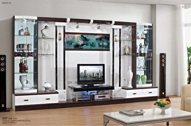 copertura mobile tv mobile porta tv moderno breve vetro di modo ...