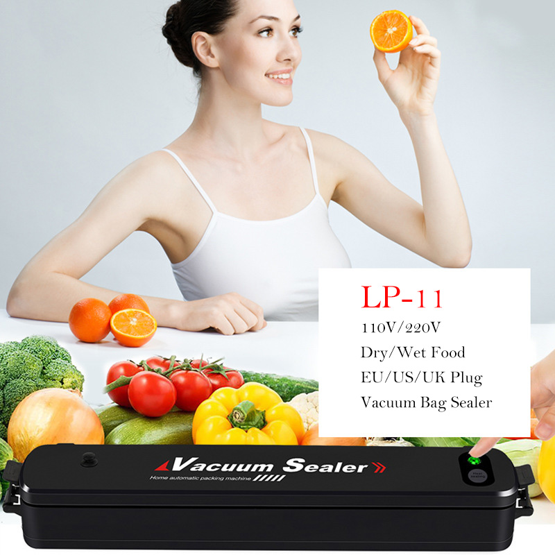Vacuum Sealer 90W Automatic Food Packing Machine with Starter Kit 15pcs Vacuum Bags Best for Household Food Saver Dry & MoistVacuum Sealer 90W Automatic Food Packing Machine with Starter Kit 15pcs Vacuum Bags Best for Household Food Saver Dry & Moist