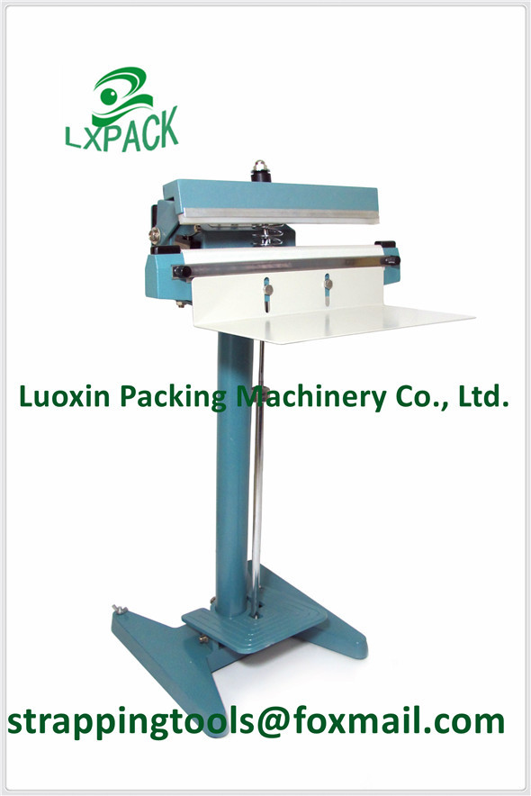 LX-PACK Lowest Factory Price Highest Quality 8'' 12' 16' 20cm 30cm 400mm Portable constant heat sealer Hand Type Sealer lx pack lowest factory price highest quality foot sealer machine foot type constant heat sealer single sided