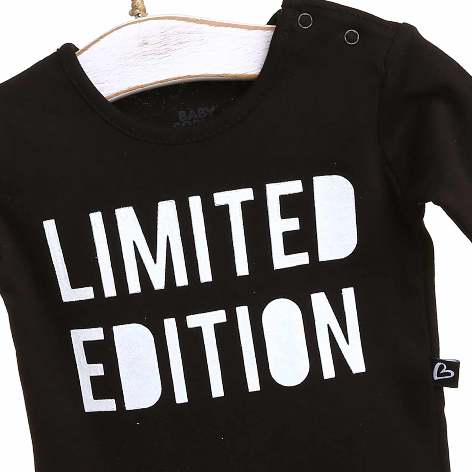 Ebebek Baby Corner Black limited edition боди с длинными рукавами