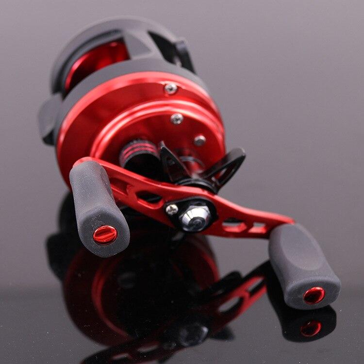 New BT2000 Luya Water droplets wheel 7BB + 1RB Drums Fishing wheel Magnetic brake 6KG Speed ratio: 4.7: 1