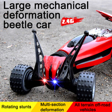 Oversized Deformation remote toy car climbing Bigfoot off-road vehicle remote control toy  car Stunt climbing  vehicles