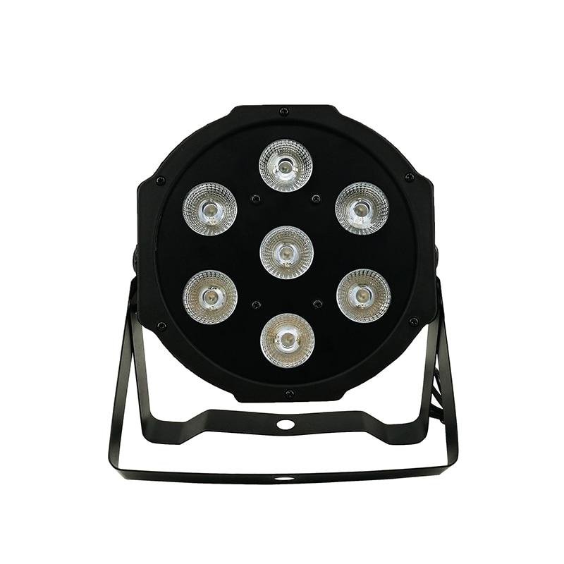 4pcs/lot Good Quality LED Par Quad 7x12w Wash DMX Par Light American DJ Par RGBW 4in1 DMX LED Flat Par Light LED Lamp 4pcs lot good quality led par quad 80x1w wash dmx par light american dj par rgb 3in1 dmx led flat par lights 25 degree beam