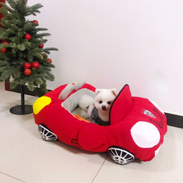 Dog Car Shape Bed 2