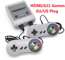 hot deal buy av 620/hdmi 621 games retro 8bit classic games tv video handheld game player for nes classic games dual gamepad console
