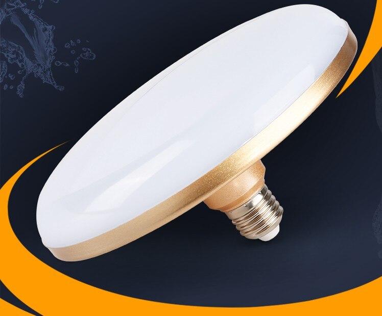 E27 15 W 18 W 24 W 36 W 50 W 60 W 70 W spirale LED Super lumineux UFO parapluie monde ampoules lampes à économie d'énergie Éclairage