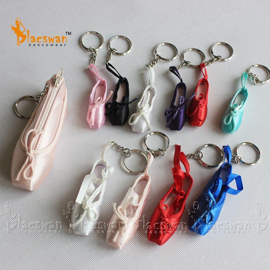 e69a11304 Satin Mini pointe shoe keychain dance accessories bag charm Dance ...