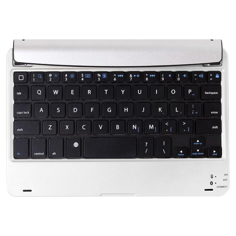Slim Portable Laptop Style Wireless Bluetooth Russian Keyboard Case For Apple iPad MINI 4 Mini 3 Mini 2 mini 1 Stand Holder Dock