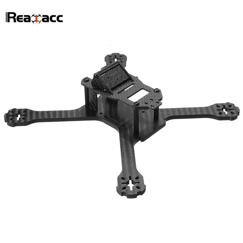 Realacc X210B 210mm Wheelbase 5mm Arm Carbon Fiber Frame Kit W/ 5V & 12V PDB Board For RC Models Multicopter Motor ESC DIY Part tator rc 3k carbon fiber plate 3 5mm tl2900