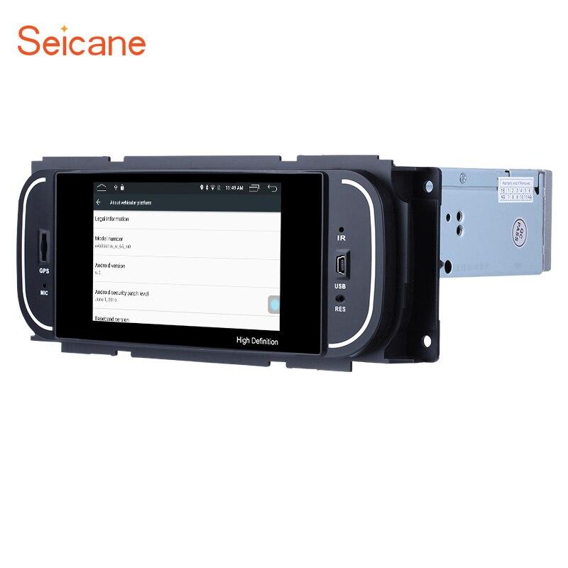 Seicane Android 6.0 5 pouce Voiture Radio Stéréo Navi GPS Unité Lecteur pour 2001 2002 2003 2004 2005 2006 2007 chrysler 300 m PT Cruiser