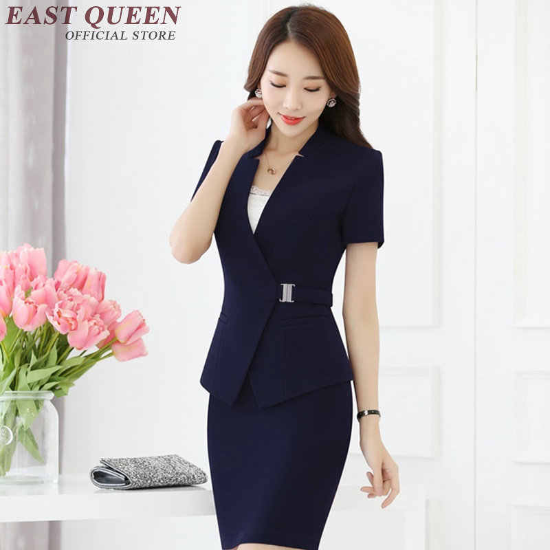 brand quality choose genuine suitable for men/women New women suits with skirts elegant female skirt suits ...