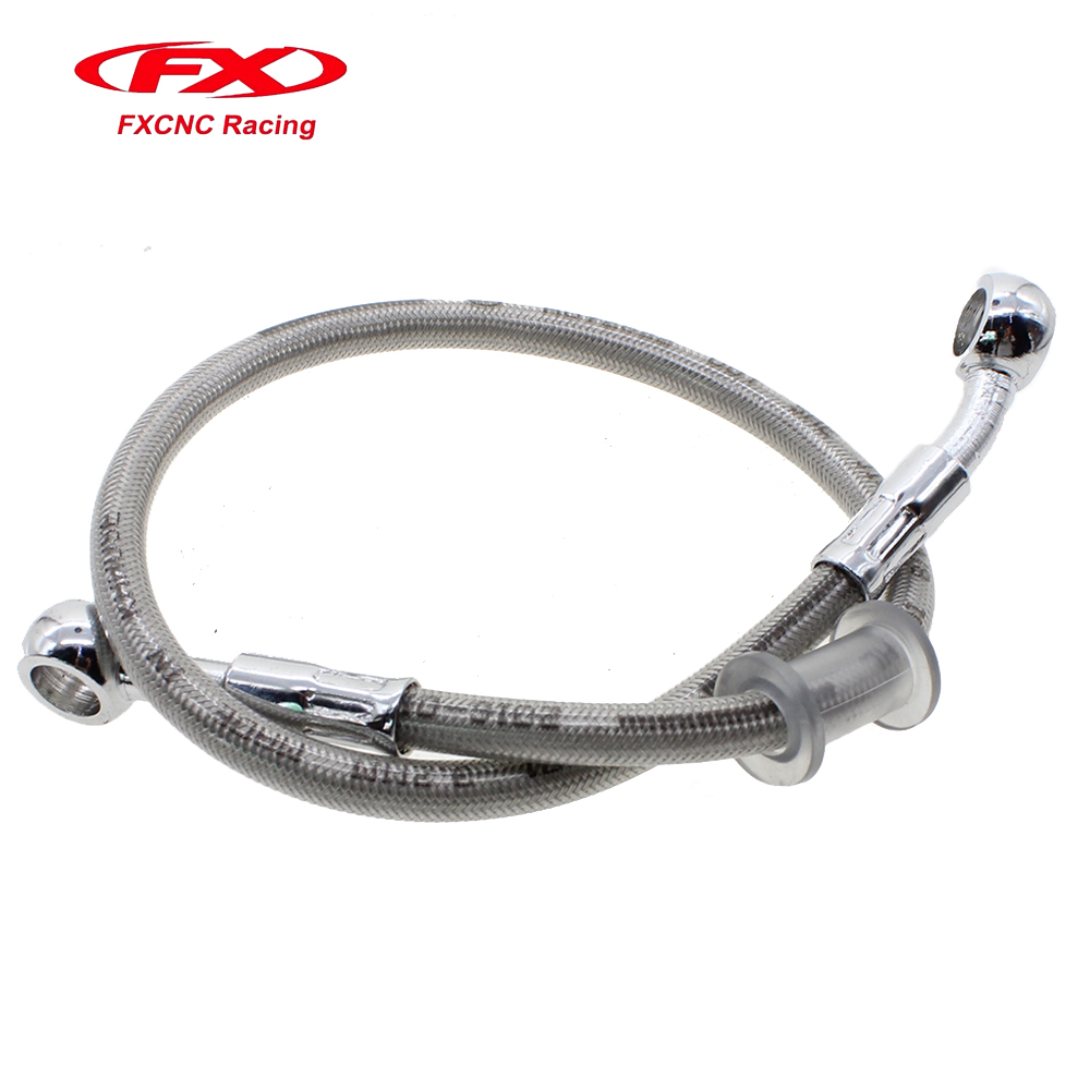 High Quality Brake Oil Hose Line Banjo Fitting Metal Braided Motorcycle 90cm allen roth brinkley handsome oil rubbed bronze metal toothbrush holder