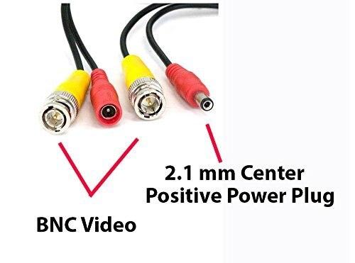 20 M CCTV Video Power BNC DVR Via Cavo di Legare del Cavo + DC plug Power cavo di estensione per Cctv e Dvr Cavo coassiale