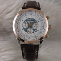 WG05108 мужские часы лучший бренд взлетно посадочной полосы Роскошные европейский дизайн кварцевые наручные часы